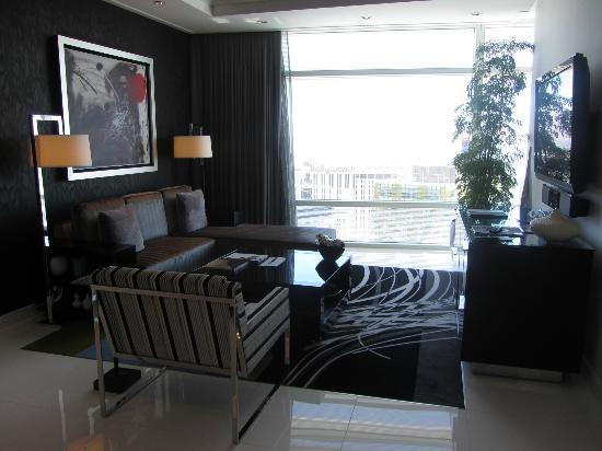 ARIA Sky Suites: Living Room
