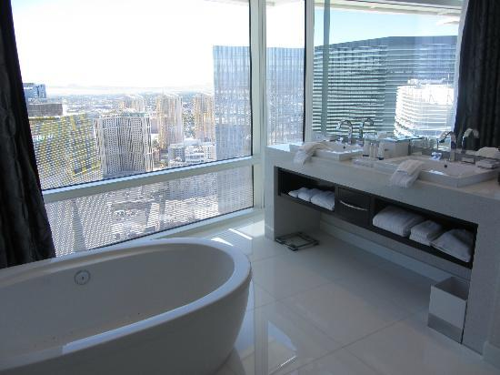 Bathroom Picture Of Aria Sky Suites Las Vegas Tripadvisor