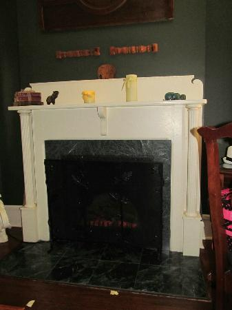 "Inn at Craig Place: The ""fire""place."