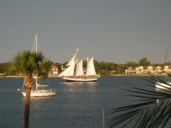 Hilton St. Augustine Historic Bayfront: Out for a ride