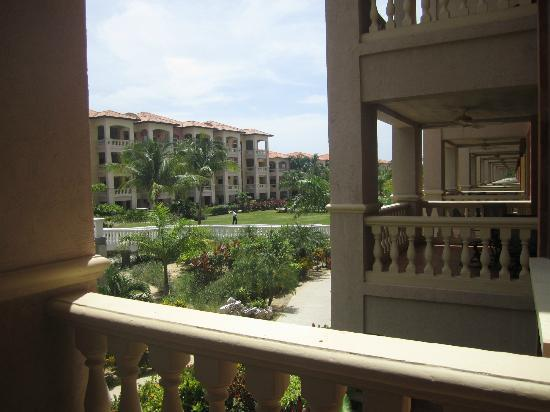 Infinity Bay Spa and Beach Resort: view from our balcony in building 18