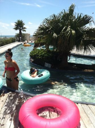 Caribe Resort: the lazy river