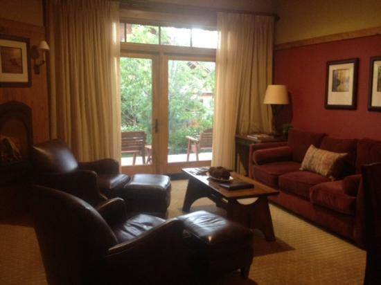 Teton Springs Lodge and Spa: The Living Room