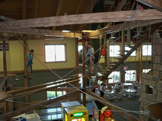‪‪Wilderness Resort‬:                   Ropes course
