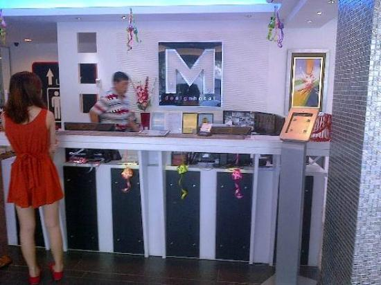 Reception picture of m design hotel kuala lumpur for Design hotel pandan indah