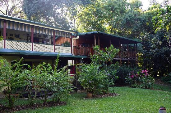 Red Mill House in Daintree: A view from the back of the property