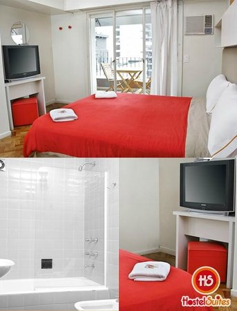 Hostel Suites Florida: Habitacion doble superior