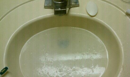 Rodeway Inn &amp; Conference Center: the sink.