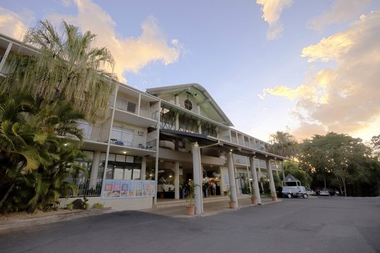 Club Crocodile Hotel, Airlie Beach: Entrance