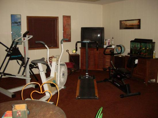 Razzano House: Exercise room