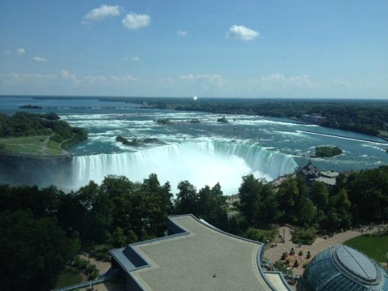 Niagara Fallsview Casino Resort: 16th Floor view from Niagra Fallsview Casino Resort