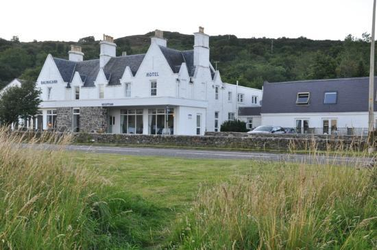 Balmacara hotel front view