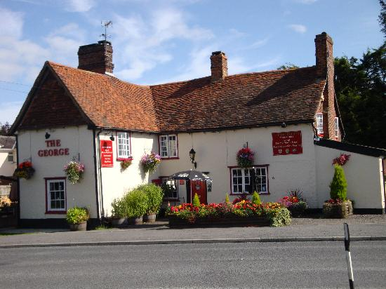 Little Hallingbury, UK: The George in Bloom