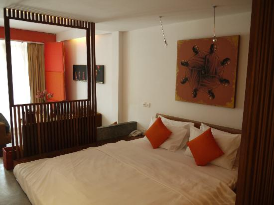 Hotel Be Angkor: Saffron room