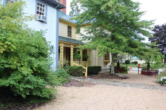 Inn at Gristmill Square: the village