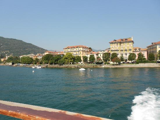 Europalace Hotel: View of hotel from Island Ferry