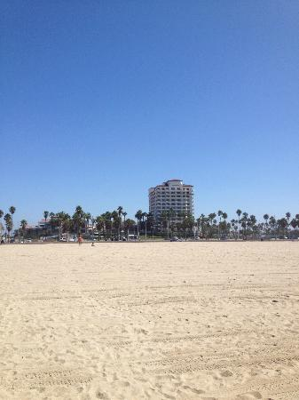 The Waterfront Beach Resort, A Hilton Hotel: View from the beach