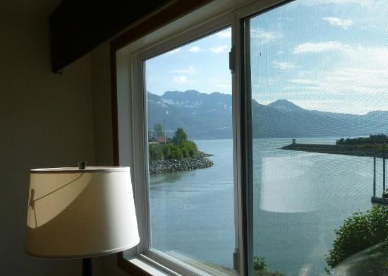 BEST WESTERN Valdez Harbor Inn: View from Best Western Valdez room