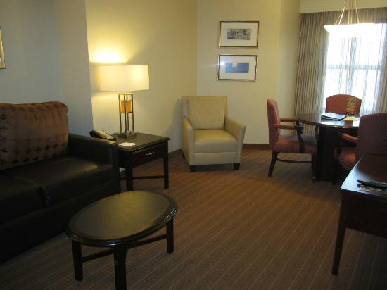 Embassy Suites by Hilton Alexandria-Old Town: Living Room Area