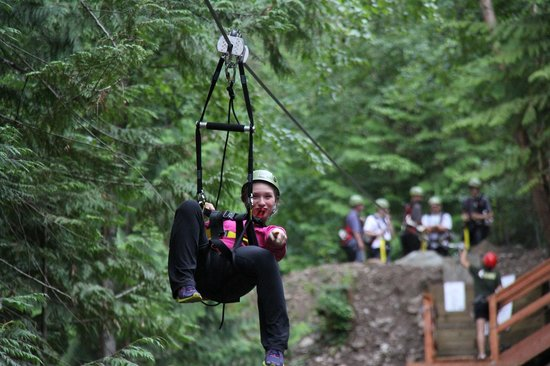 Treetop Flyers Zipline at Chase Canyon