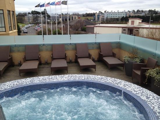 Rooftop Jacuzzi Pool At The Spa Picture Of Old Course Hotel Golf Resort Spa St Andrews