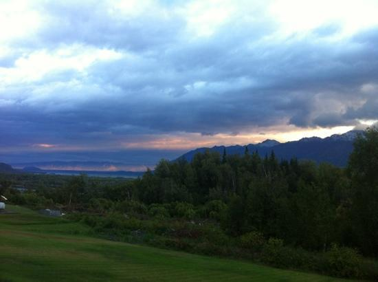 Knik River Lodge: the view