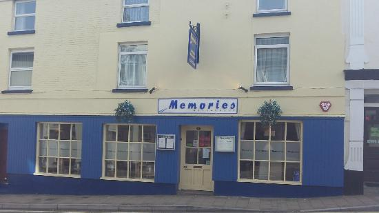 Northam, UK: memories restaurant