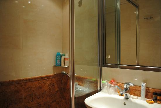 Atrion Hotel: Bagno