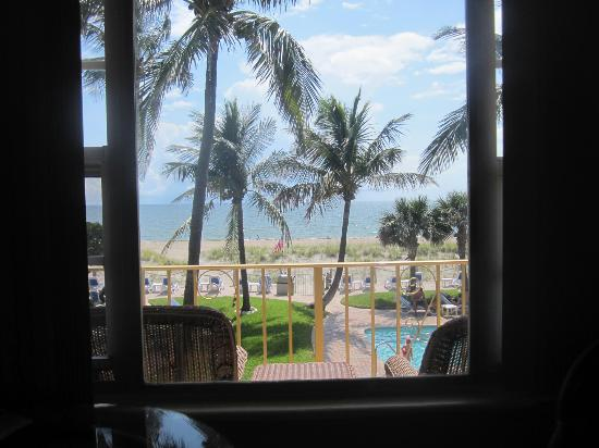 Tropic Seas Resort: Room with a view