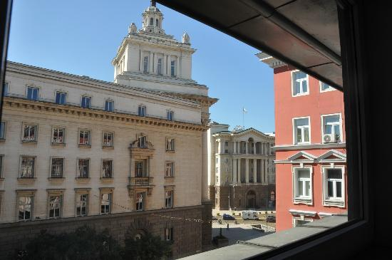Arte Hotel: view from the room