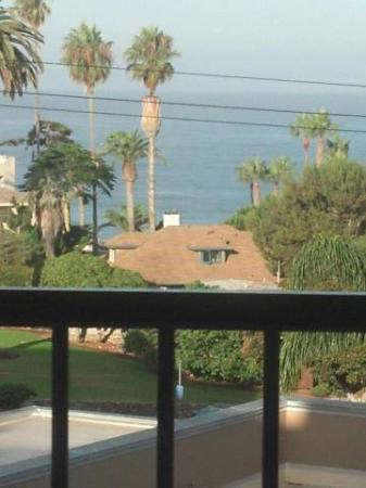 BEST WESTERN PLUS Inn by the Sea: View from the room of the ocean
