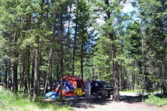 Photo of Redstreak Campground Kootenay National Park