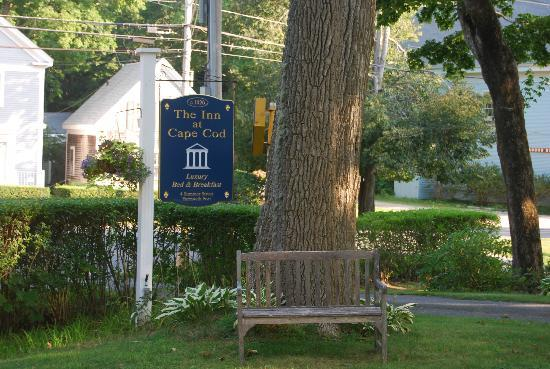 The Inn at Cape Cod: The sign