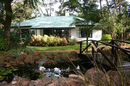 Pool picture of karen blixen coffee garden cottages for Pool garden restaurant nairobi