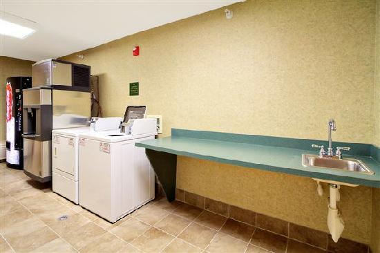 Hampton Inn &amp; Suites Petoskey: Laundry Room