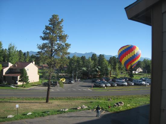 Pagosa Springs Inn and Suites : View outside of room 308