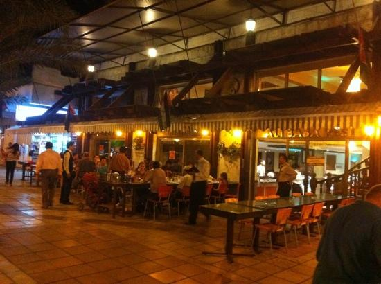 Outdoor terrace picture of ali baba restaurant aqaba for Ali baba s middle eastern cuisine