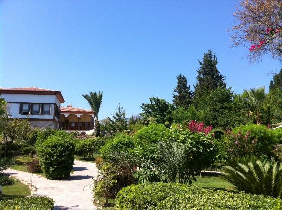 Mehmet Ali Aga Mansion: Beautifully maintained gardens