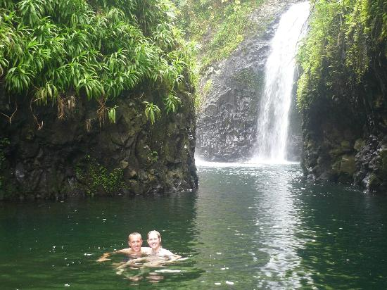 Lavena Waterfall Picture Of Taveuni Island Resort Amp Spa