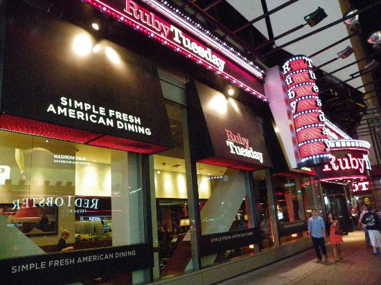 Ruby Tuesday Times Square Picture Of Ruby Tuesday New York City TripAdvisor