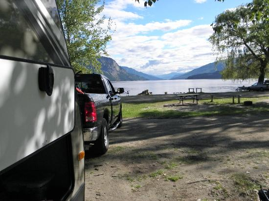 Pierre's Point Campground: Choice of camping spots as not busy