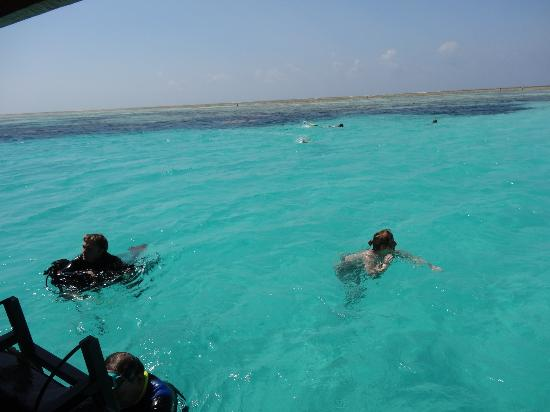 Breezes Beach Club & Spa, Zanzibar: Snorkling at the Blue Lagoon