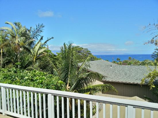 Garden Gate Bed and Breakfast: View from the Oceanview Suite Terrace