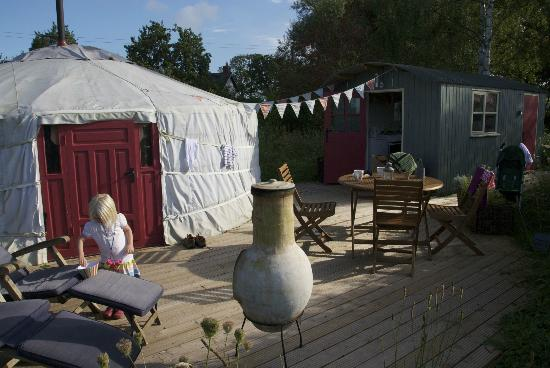 Norton Canon, UK: The Yurt at Midland Farm