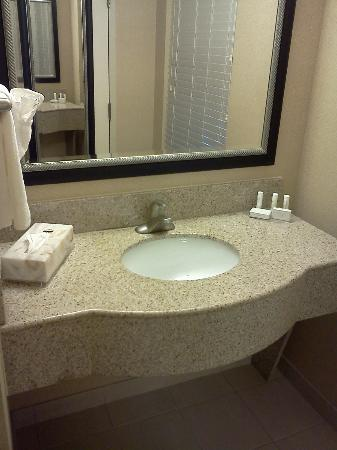 Courtyard by Marriott Kansas City Country Club Plaza: Sink