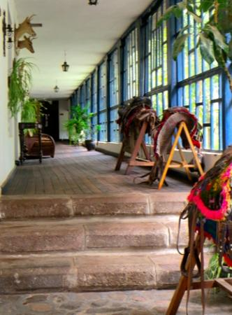 Hacienda Guachala: Foyer Entrance.