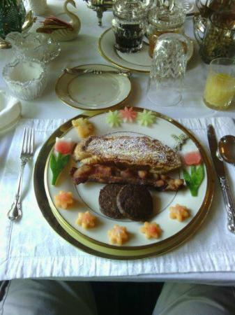 Washington Plantation Bed and Breakfast: Breakfast