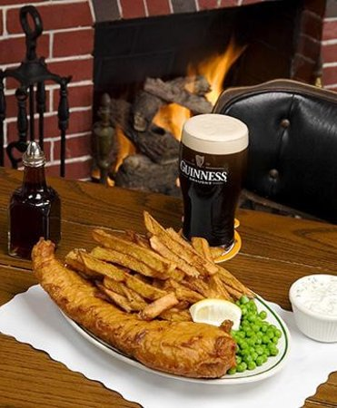 Shakespeare pub and grille san diego menu prices for Best fish and chips in san diego