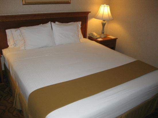 Holiday Inn Express Hotel & Suites Pasadena-Colorado Blvd.: bed