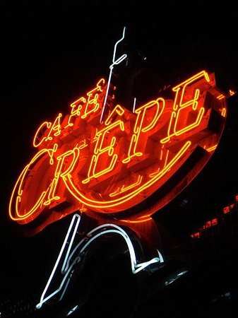 Cafe Crepe Robson St Vancouver